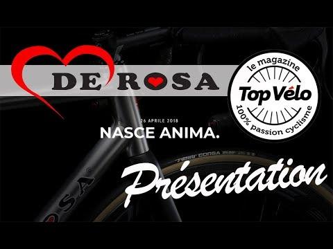 Image de la vidéo Nouveau vélo titane sur mesure De Rosa Anima avec Campagnolo 12 vitesses