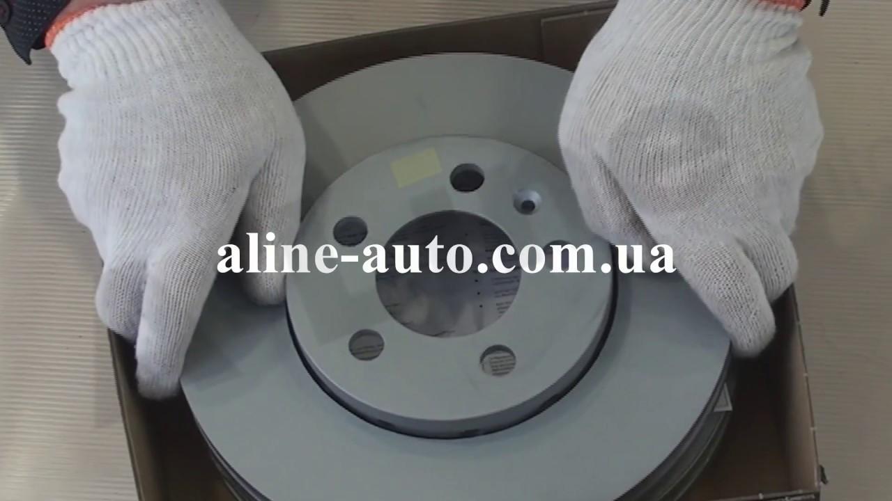 Видеообзор тормозных дисков Otto Zimmermann и колодок FERODO - YouTube