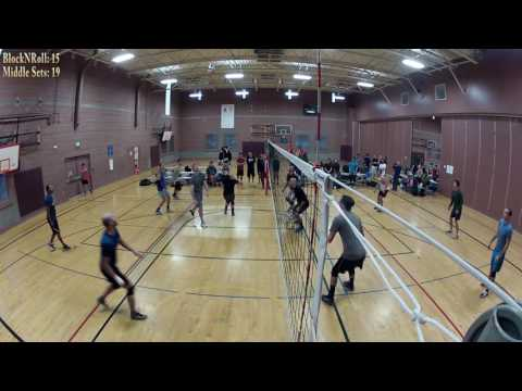 BIGGEST Volleyball Rivarly: BlockNRoll (seed 6) vs MiddleSets (seed 3)