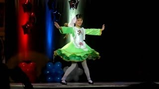 Татарский сольный танец. Tatar dance. Solo.