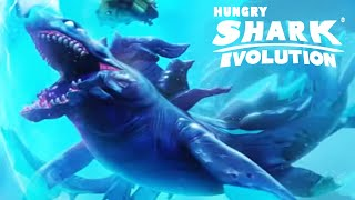 New LUMINITE SHARK Unlocked is HERE!!! - Hungry Shark Evolution HD