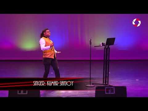 Kumar Sanjoy performance at Bangali performing arts event 2017 - Part 2