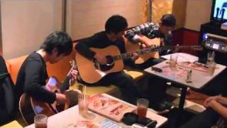 押尾さんの渋谷音楽祭のプロジェクトに参加する前に、カラオケに行って ...