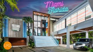This Miami Home Takes Luxury to the NEXT LEVEL - SEE INSIDE!