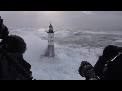 Waves and lighthouses