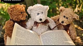 Let's learn Chinese!!  Bears are smart and can read books!!
