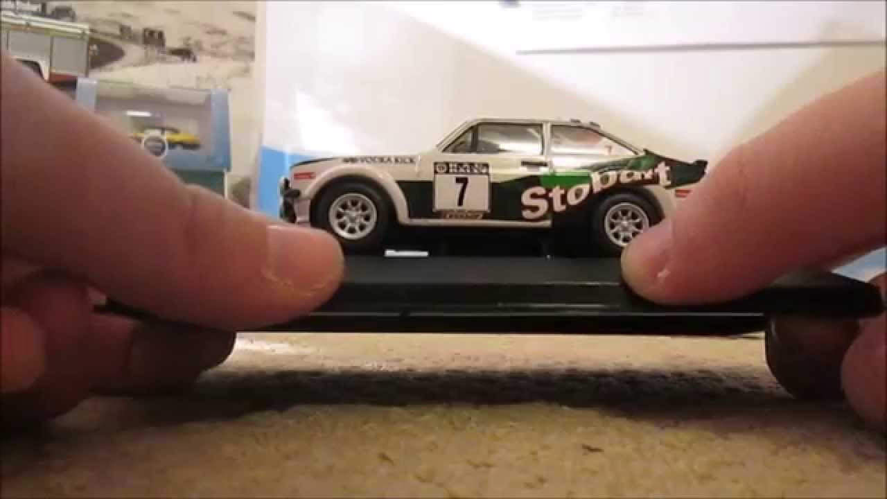 Corgi Vanguards - Stobart Ford Escort MK2 Rally Car - YouTube