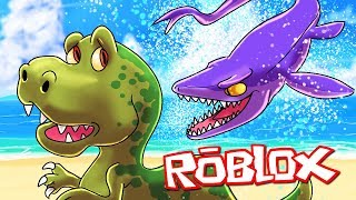 Roblox   REALISTIC DINOSAURS CHALLENGE - Worlds Biggest Dino! (Roblox)