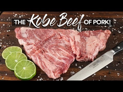 The KOBE BEEF of PORK Experience   Guga Foods
