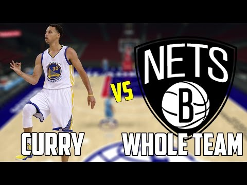 CAN STEPH CURRY BEAT THE WORST NBA TEAM BY HIMSELF? NBA 2K17!