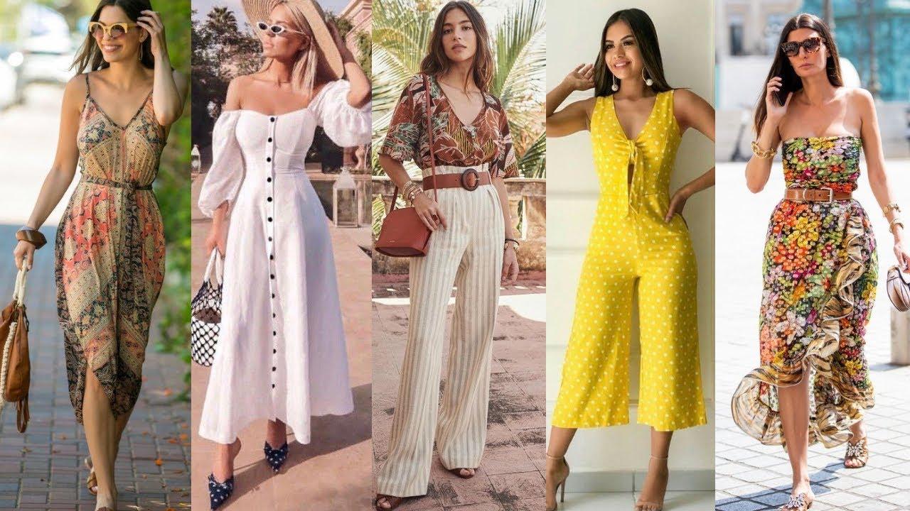 Nuevas Tendencias De Moda Mujer 2020 2021 Tendencias De Moda Mujer Primavera Verano 2020 2021 Youtube