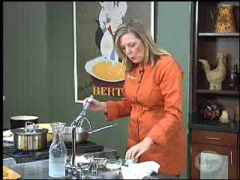 Kroger Creations with Chef Meg Galvin #16 (Butternut Squash Spinach Lasagna)
