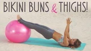 Bikini Buns & Thighs Routine ☀ BIKINI SERIES