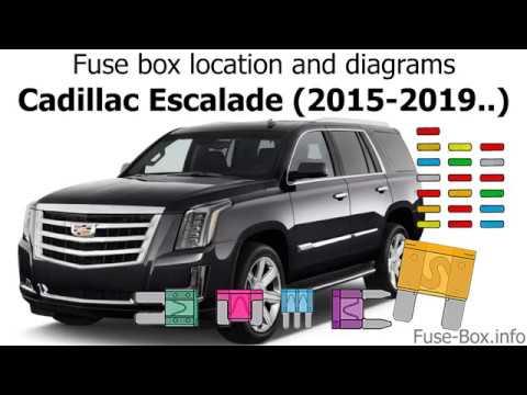 fuse box location and diagrams cadillac escalade (2015 2019 ) Chevy Cobalt Fuse Box