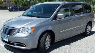 Chrysler Town and Country test drive