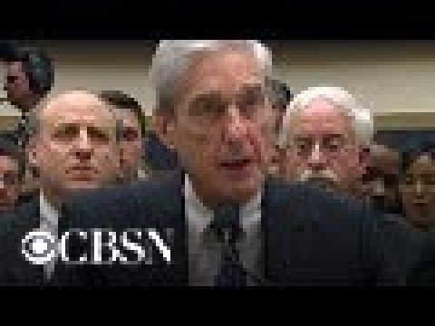 Mueller on counterintelligence findings in Russia report