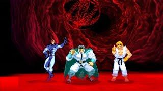 Marvel VS Capcom 2 - Iceman/Bison/Ken - Expert Difficulty Playthrough