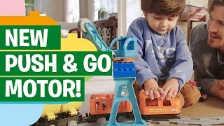 Create & Connect: The LEGO DUPLO Cargo Train with Action Bricks - 10875