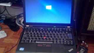 Lenovo X220 UEFI boot