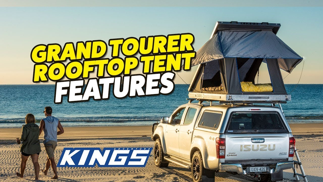 Adventure Kings Grand Tourer Rooftop Tent Features Youtube