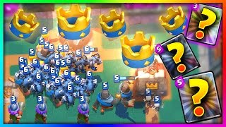 WIN EVERY TIME With THESE THREE SECRET CARDS In Clash Royale!