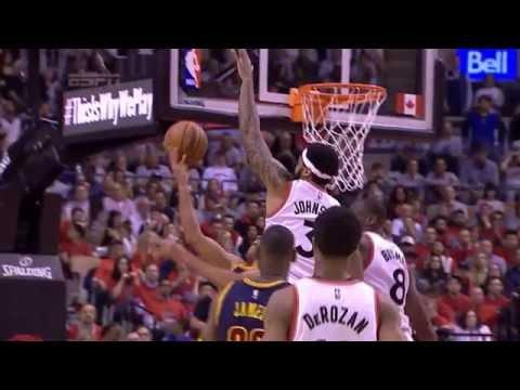 Richard Jefferson Circus Shots Game 3 ECF NBA Playoffs Cleveland Cavaliers vs Toronto Raptors