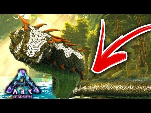 A WILD BASILISK STRIKES! ARK ABERRATION #3
