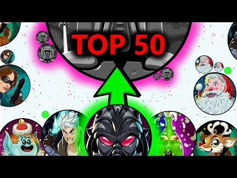 Agar.io TOP 50 PLAYS OF THE WEEK #4 // LEGENDARY AGARIO DOUBLE-SPLITS