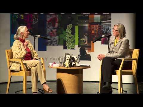 10 Questions to Jane Goodall with CTV Montreal's Caroline Van Vlaardingen