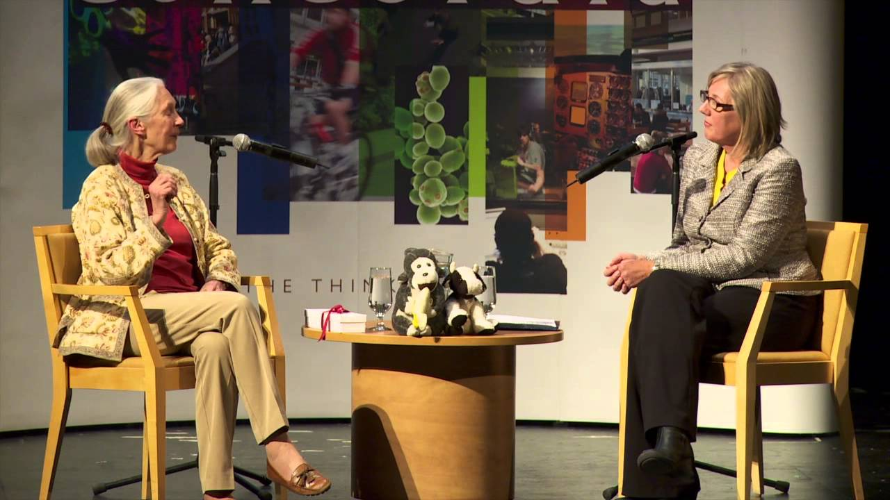 10 Questions to Jane Goodall with CTV Montreal's Caroline ...