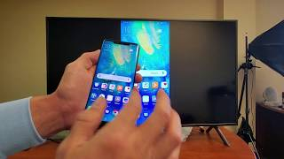Huawei Mate 20/30 Pro: How to Screen Mirror (Wireless Projection) to Samsung Smart TV