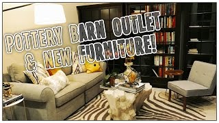 POTTERY BARN OUTLET AND NEW FURNITURE!