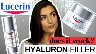 EUCERIN HYALURON-FILLER NIGHT PEELING&SERUM AND DAY CREAM SPF 30: Anti-Aging Skincare Review