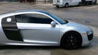 Audi R8 Panoramic Roof Wrap Fort Lauderdale Florida