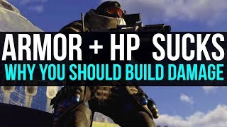 The Division 2 Armor and Health is Useless: Build For the Highest DPS First