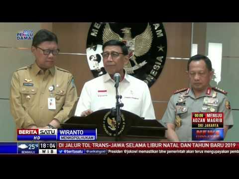 Wiranto: Perusak Baliho Partai Demokrat Sudah Ditangkap