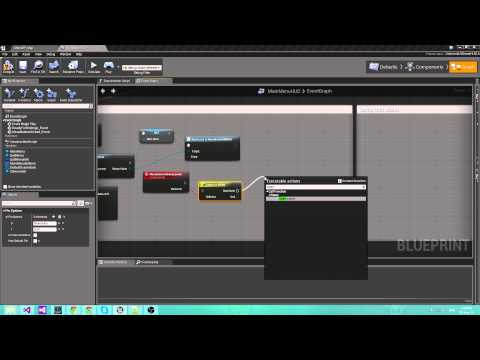 Out of the box game menu in Unreal Engine 4 with Coherent UI |