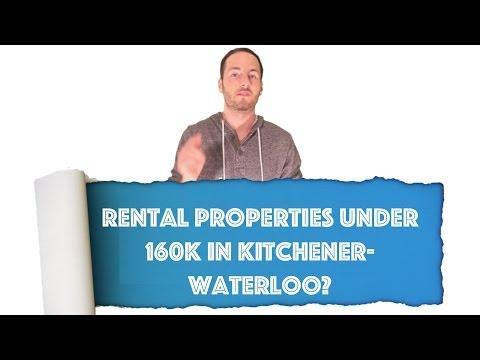 Rental Properties UNDER 160k in Kitchener-Waterloo