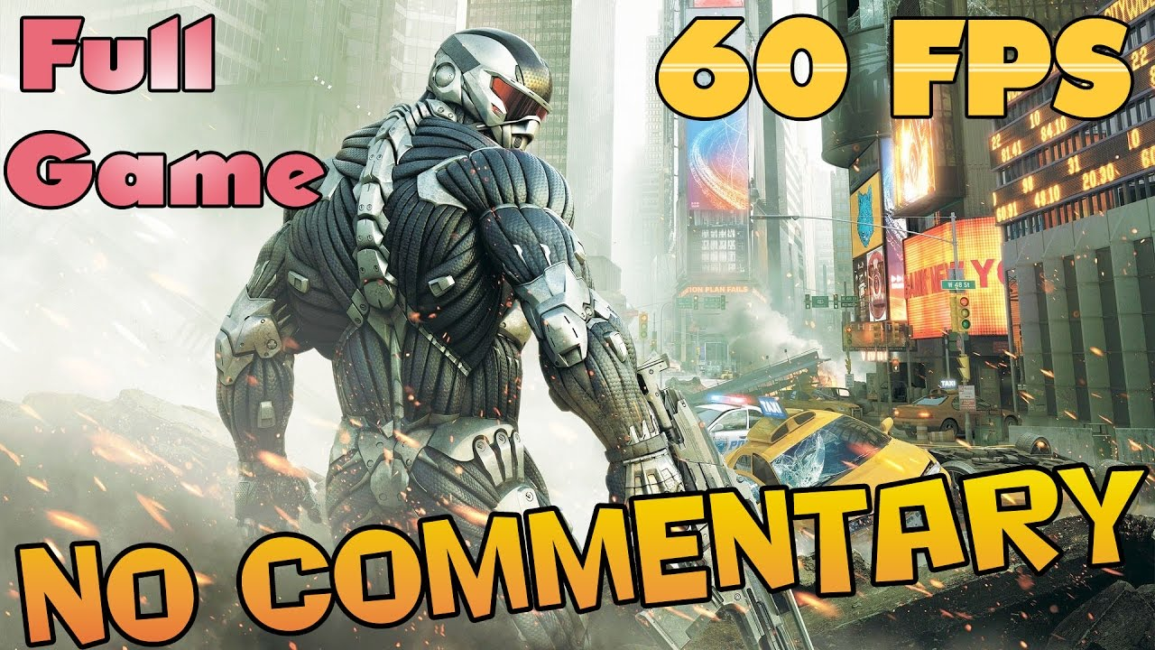 Crysis 2 - Full Game Walkthrough