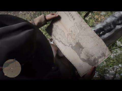 Red Dead Redemption 2 Watsons Blockhutte Karte.Red Dead Online Schatzkarte Ostlich Der Watson Hutte