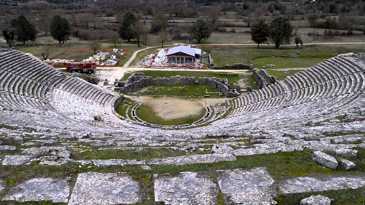 archaeological site of dodona youtube