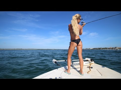 Big MONSTER Snook Caught Inshore Saltwater Fishing Stuart, Florida