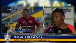 Julio Baptista, declaratii dupa Gaz Metan - CFR Cluj 0-0 Liga 1 - Etapa 6
