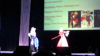 Групповое дефиле. Конкурс 11. Amika, Takamachi Vivio - Fate\Extra