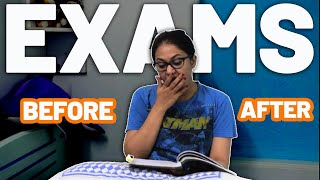 Before Vs After Exam | Exam Season | Captain Nick