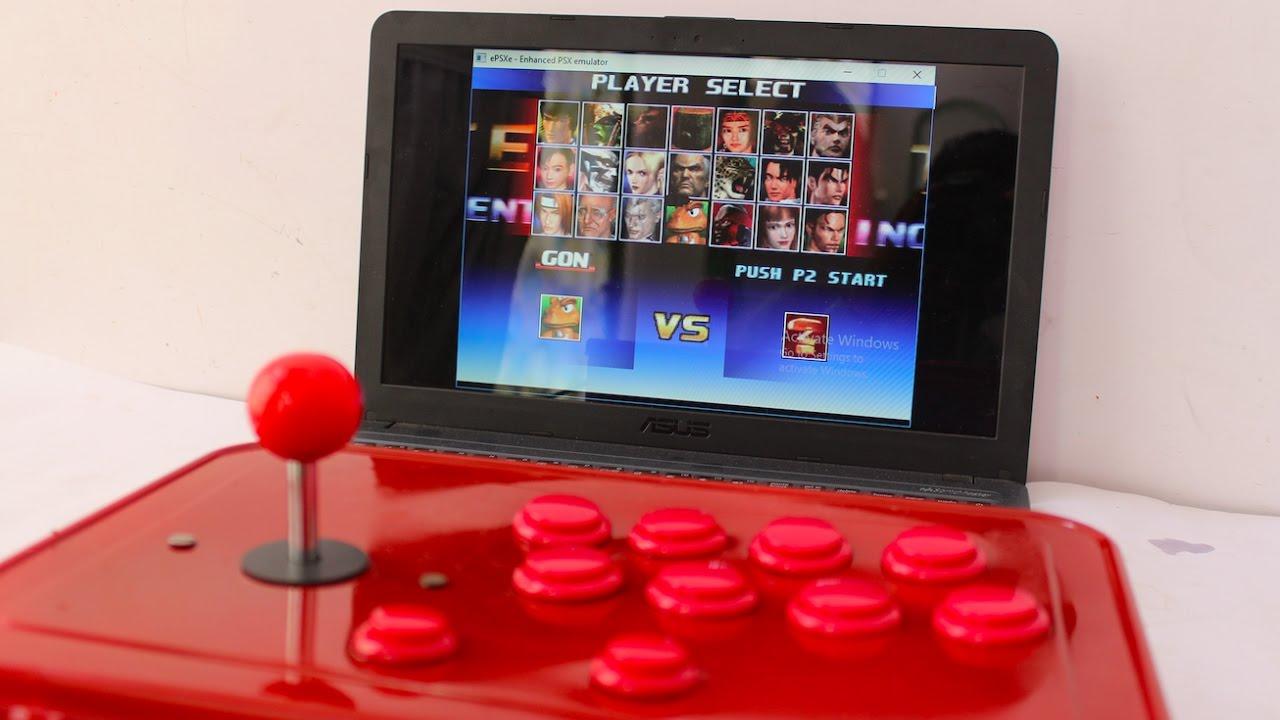 How To Make Joystick For Tekken 3 Youtube