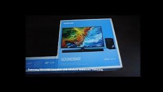 Samsung HW-K360 Soundbar with wireless (Bluetooth) Subwoofer Unboxing