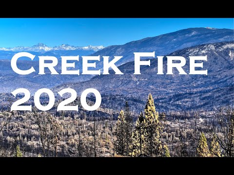 Creek Fire 2020 Shaver Lake - Huntington Lake