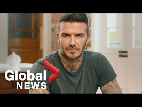 David Beckham 'speaks' Nine Languages In Call To End Malaria