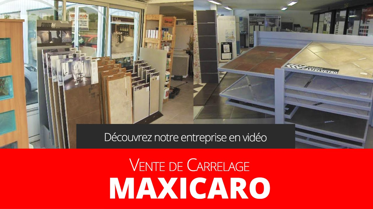 entreprise de d coration rev tement de sols murs carrelage faience sanitaire maxicaro youtube. Black Bedroom Furniture Sets. Home Design Ideas